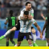 Lionel Messi - loving life with Argentina during the international break